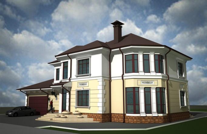 Индивидуальный жилой дом в поселке Снегири [2010]