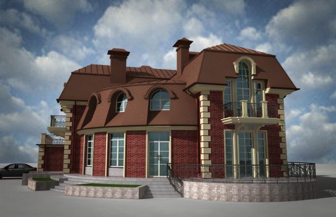 Индивидуальный жилой дом в Борках [2009]