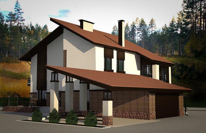 Индивидуальный жилой дом в поселке Снегири [2009]