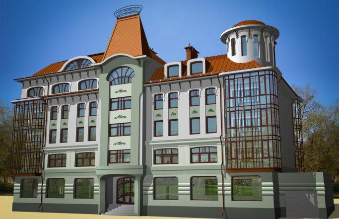 Жилой дом на Полонского [2007]