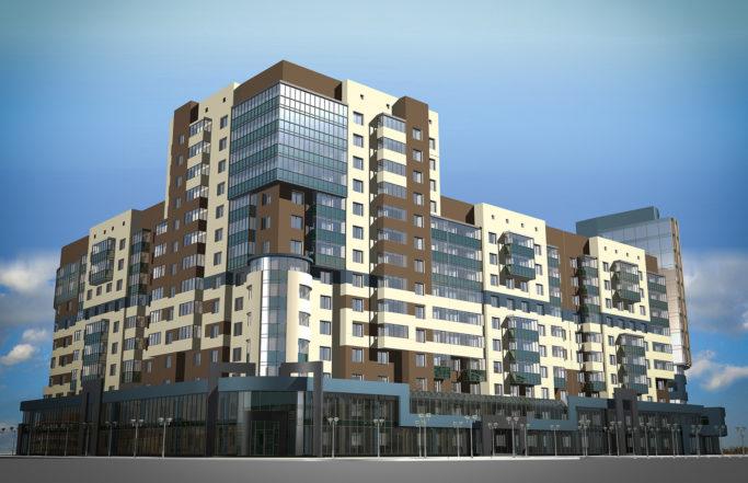 Жилой комплекс на Чапаева [2008]